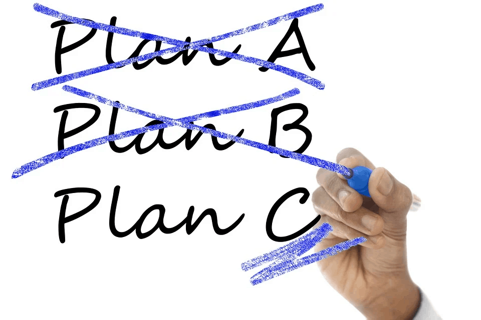 Plan A, B, and C
